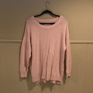 Old Navy Pink Knit Sweater